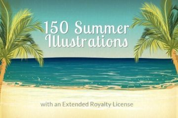 Summer Vector Illustrations