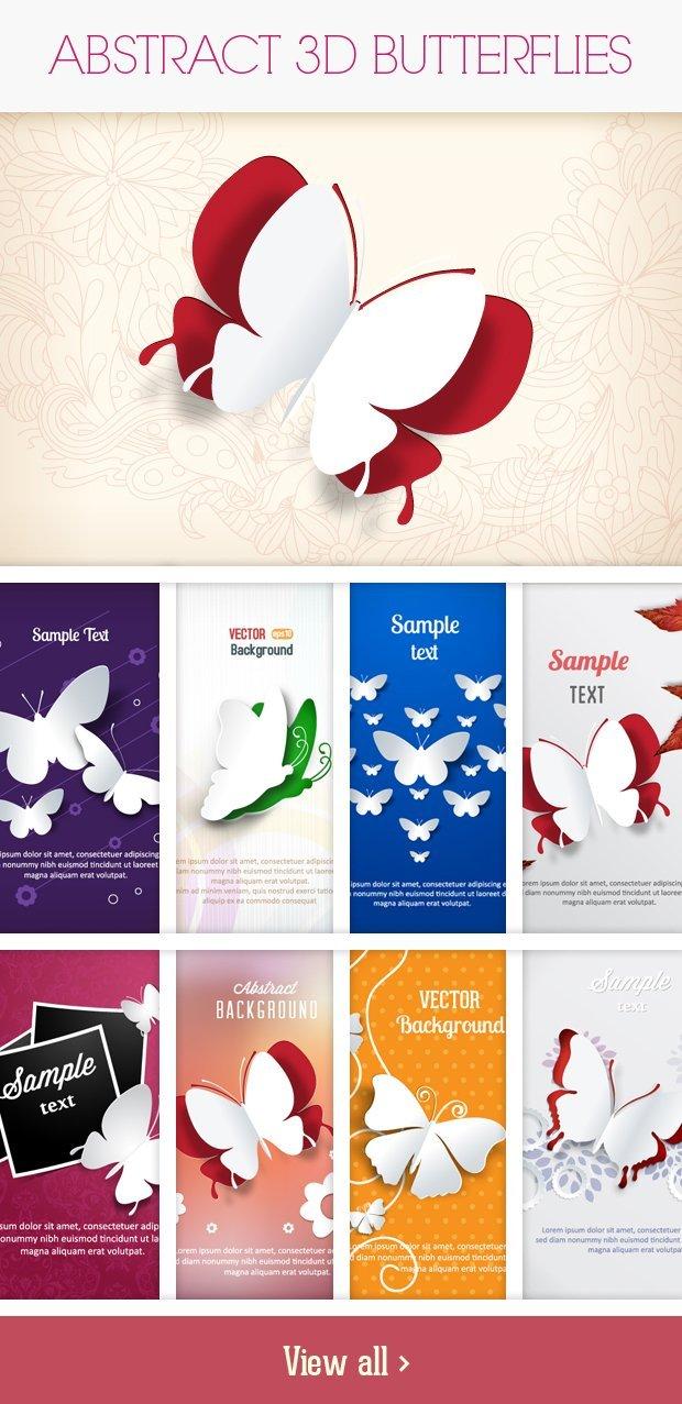 Abstract-3D-Butterflies-Small