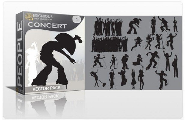 concert-silhouettes