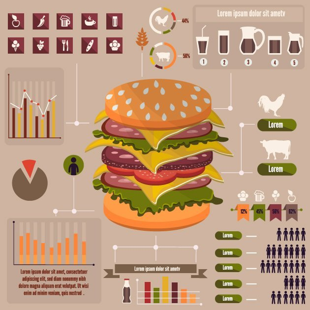designtnt-vector-food-and-beverage-infographic