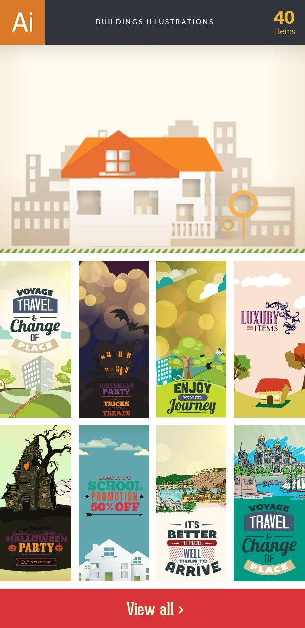 inkydeals-vector-buildings-illustrations-small