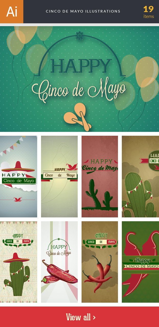 inkydeals-vector-cinco de mayo-illustrations-small