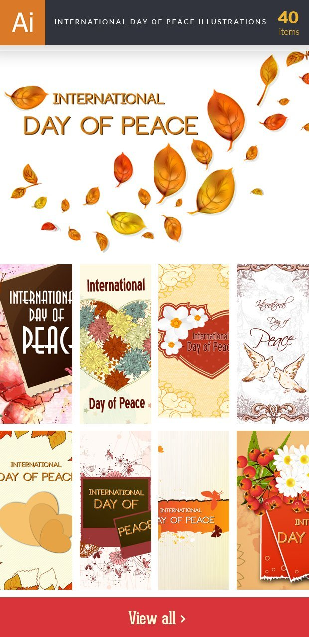 inkydeals-vector-international day of peace-illustrations-small