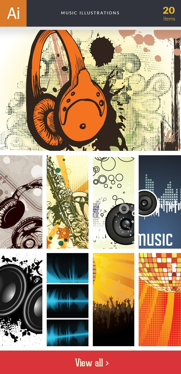 inkydeals-vector-music-illustrations-small