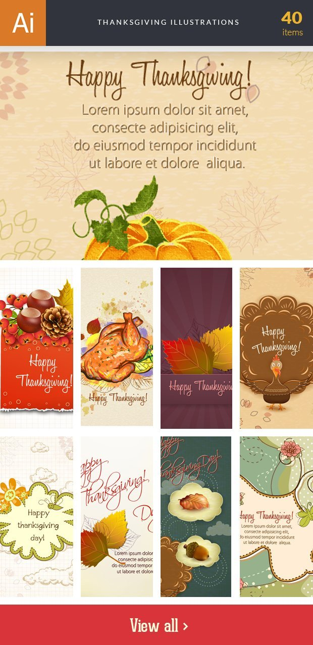 inkydeals-vector-thanksgiving-illustrations-small