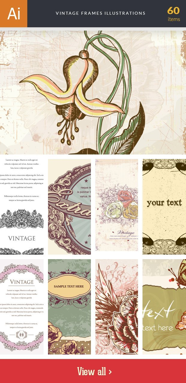 inkydeals-vector-vintage frames-illustrations-small