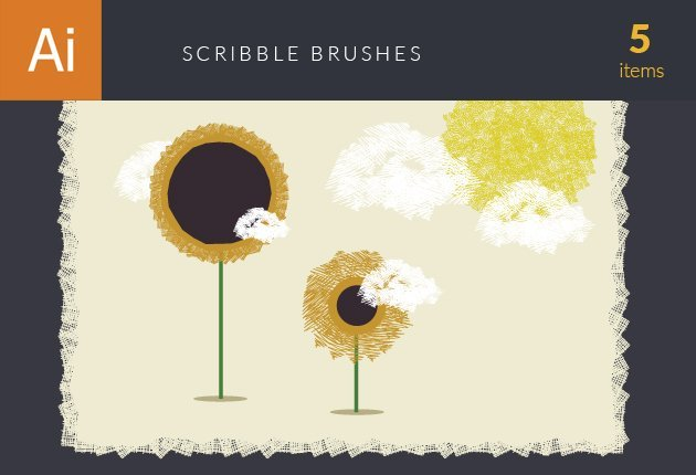 designtnt-addons-scribble-brushes-small
