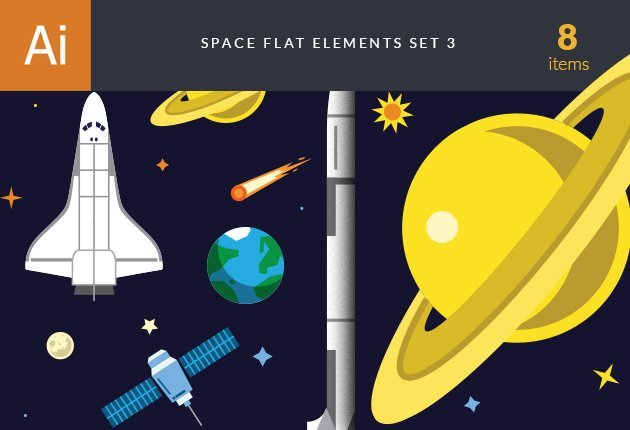 designtnt-vector-space-flat-3-small