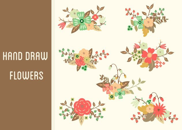 designtnt-vector-hand-draw-flowers-small