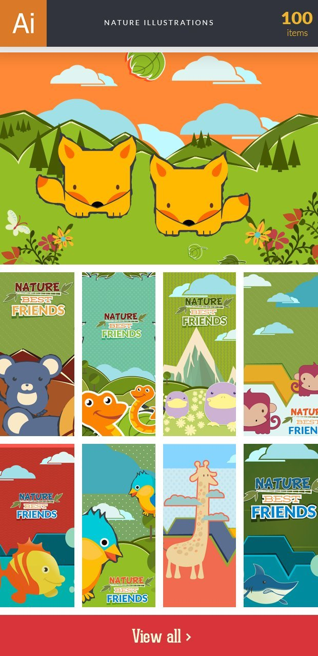 inkydeals-vector- nature-illustrations-small