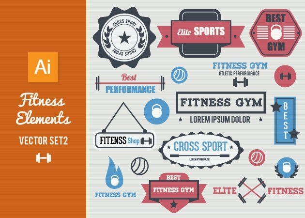 Designtnt-Vector-Fitness-Vector-Elements-Set-2-small