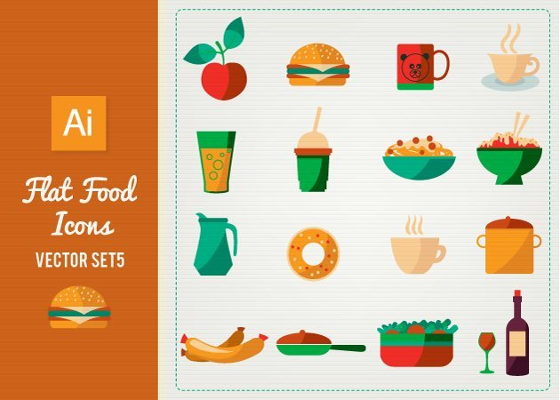 Designtnt-Vector-Flat-Food-Icons-Set-5-small