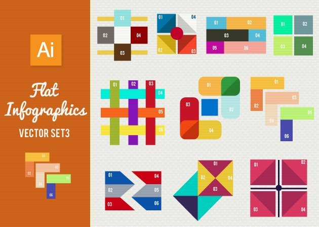 Designtnt-Vector-Flat-Infographics-Set-3-small
