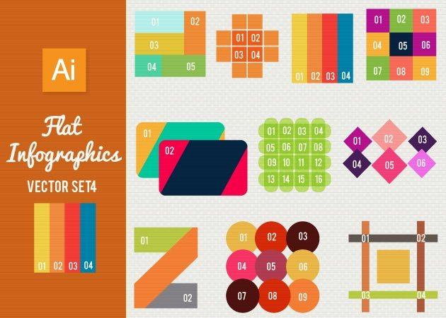 Designtnt-Vector-Flat-Infographics-Set-4-small