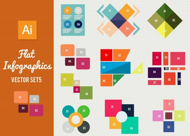 Designtnt-Vector-Flat-Infographics-Set-5-small