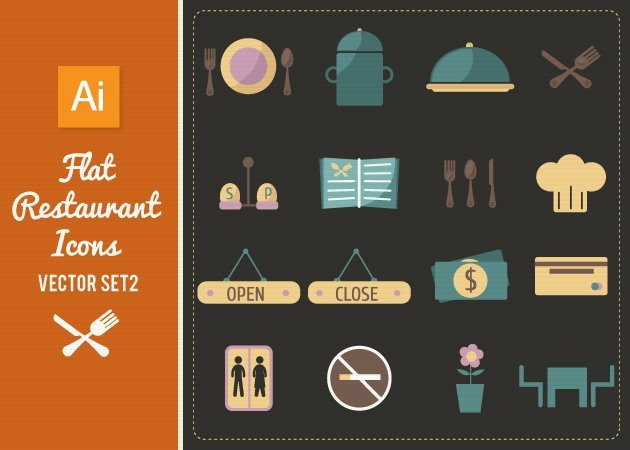 Designtnt-Vector-Flat-Restaurant-Icons-Set-2-small