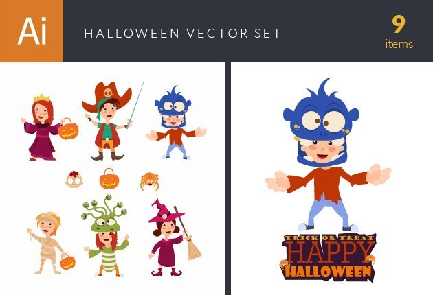 design-tnt-vector-Halloween Kids Vetors Set 1-small