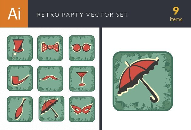 design-tnt-vector-SParty Retro Vector Set 2-small