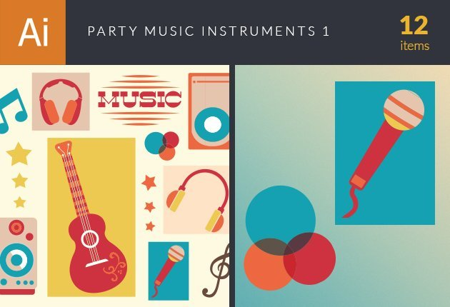 design-tnt-vector-party-music-instruments-set-1-small