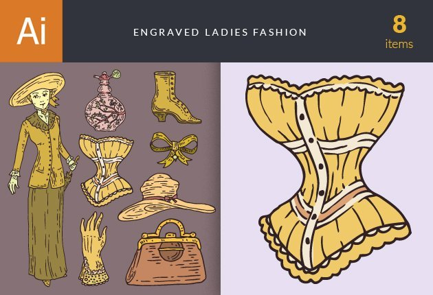 designtnt-vector-engraved-ladies-fashion-small