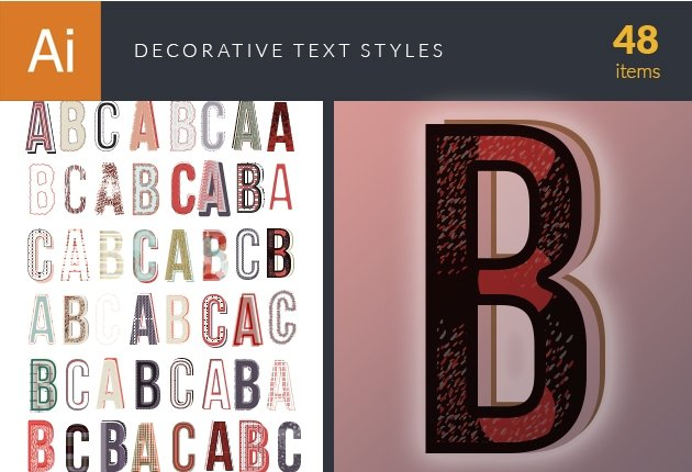 design-tnt-vector-decorative-text-styles-small