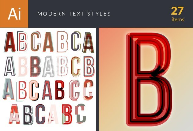 design-tnt-vector-modern-text-styles-small