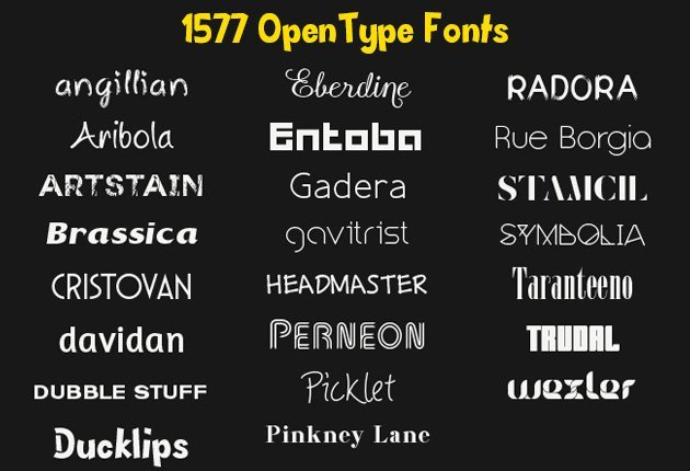1577-OpenTypeFonts-Preview-small