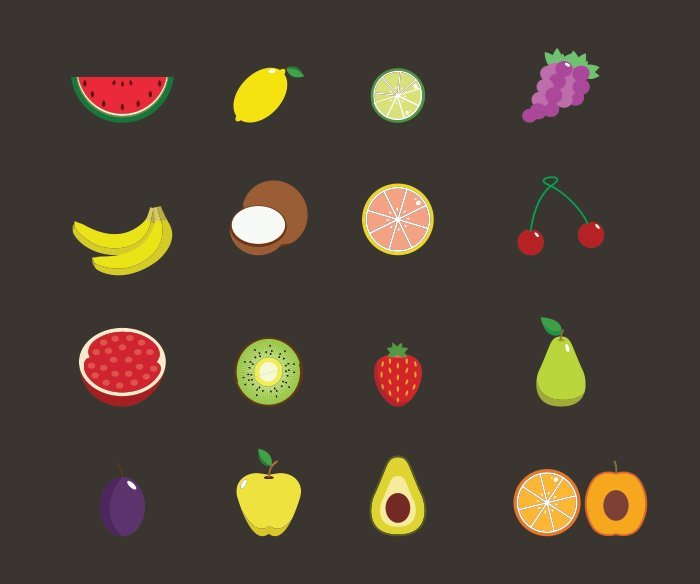 33-vectorstock-fruits
