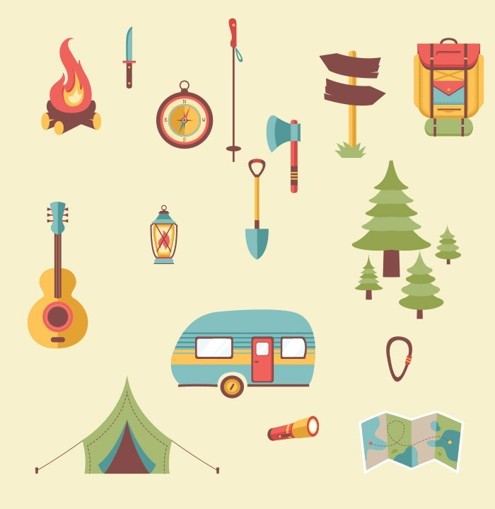 37-vectorstock-hiking_camping