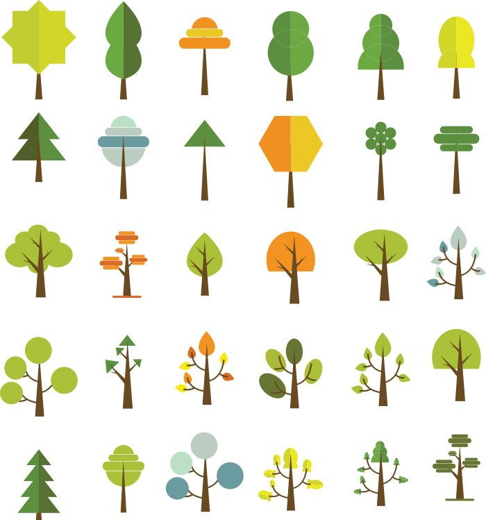 55-vectorstock-trees