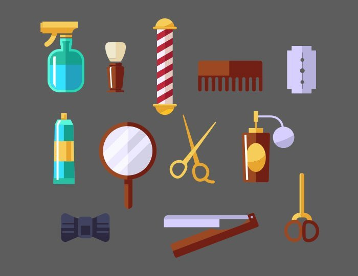 7-vectorstock-barber-shop