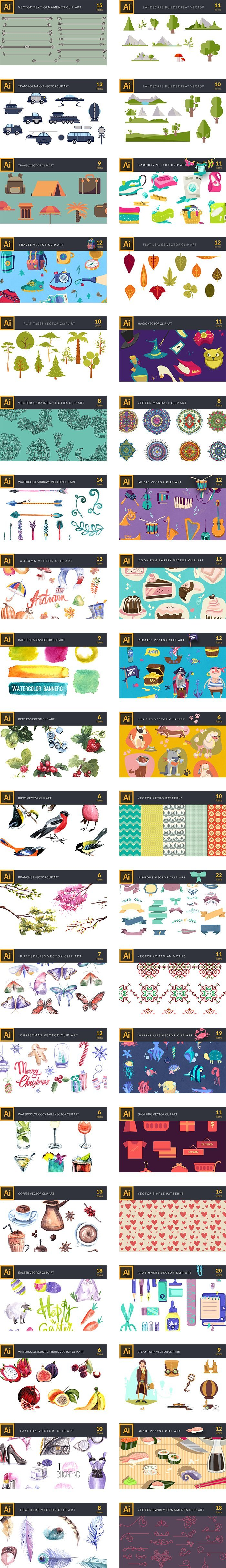preview-158 Premium Vector Clip Art Packs-2