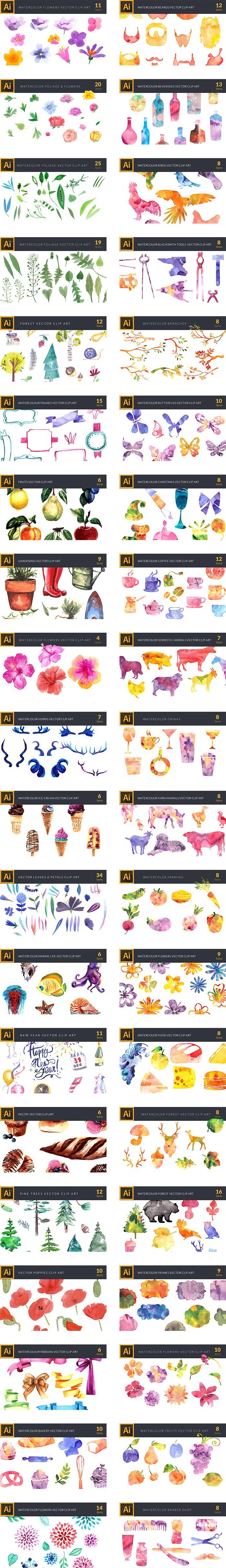 preview-158 Premium Vector Clip Art Packs-3