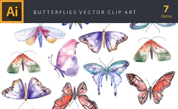 vector-watercolor-butterflies-small