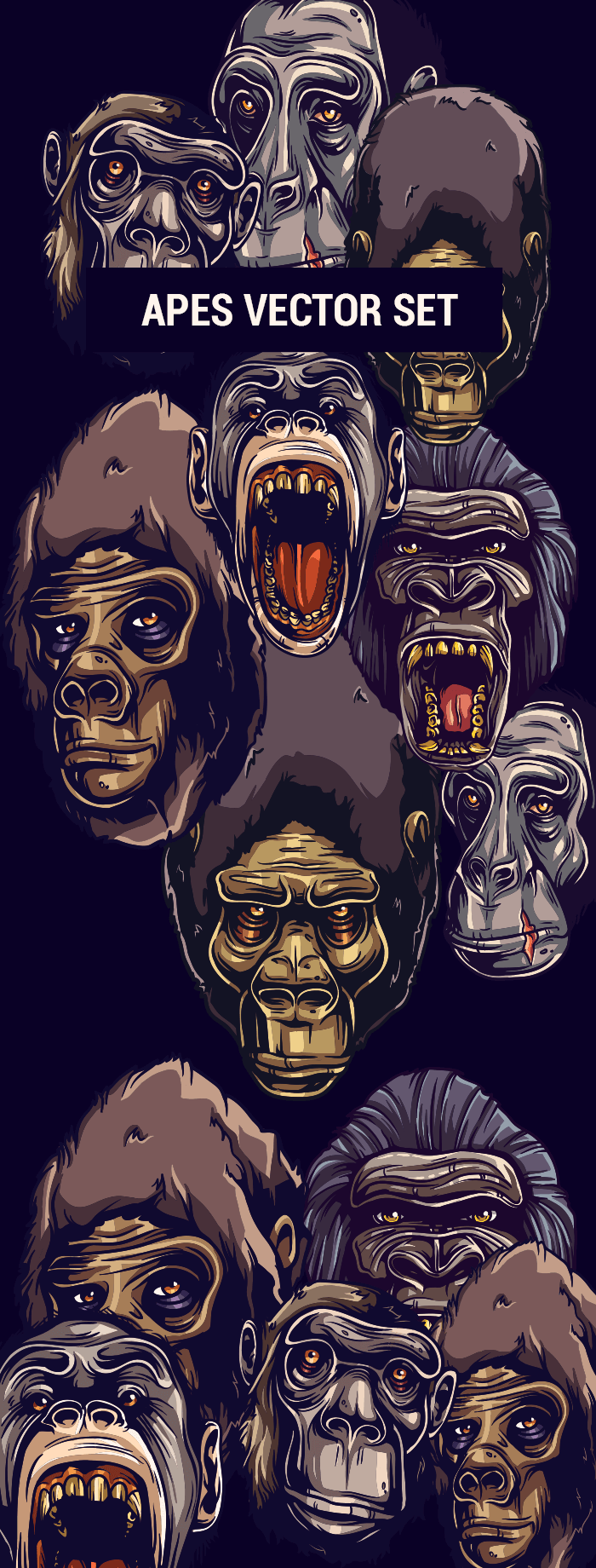 apes-vector-setpreview700px