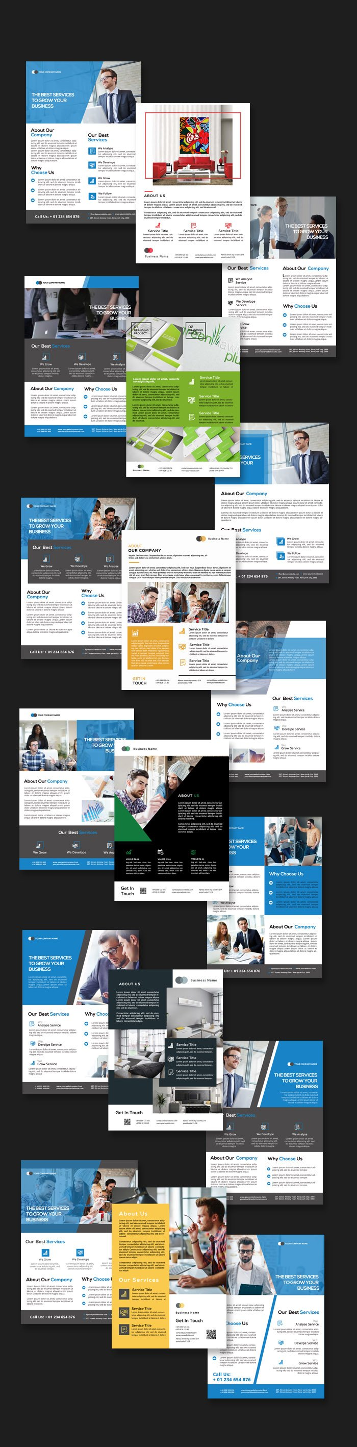 multipurpose flyer templates preview 1