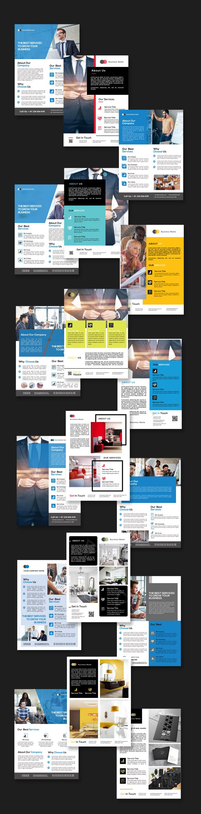 multipurpose flyer templates preview 2