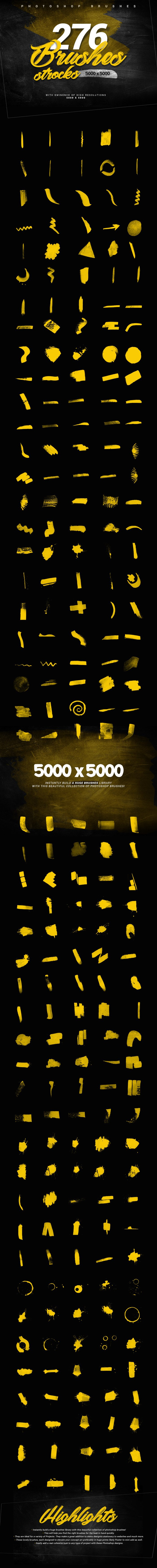 463 photoshop brushes collection 1