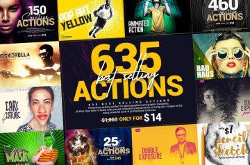 635 Photoshop Actions