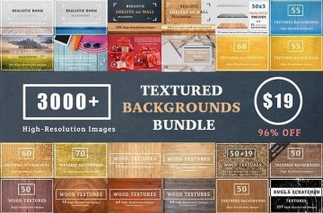 textured backgrounds bundle