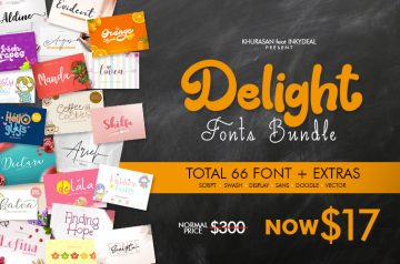 cool fonts bundle