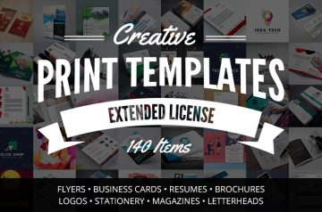 print templates bundle
