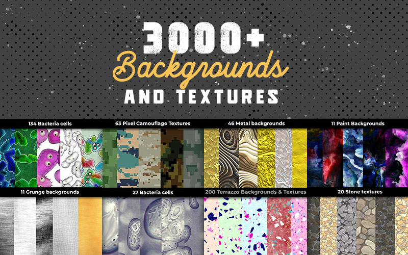 High Resolution Backgrounds and Textures