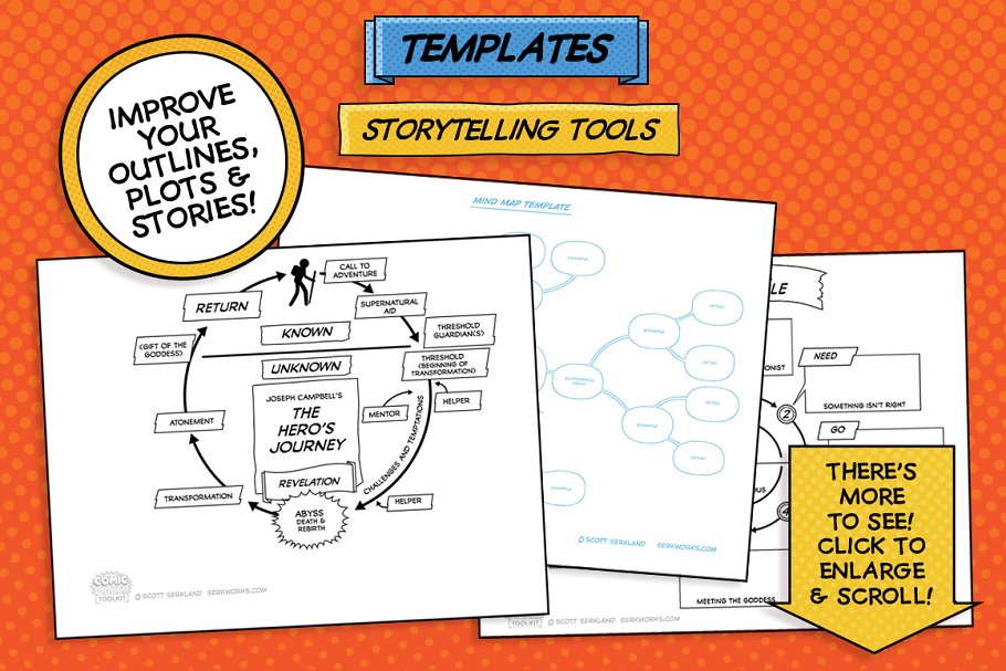Story telling tools