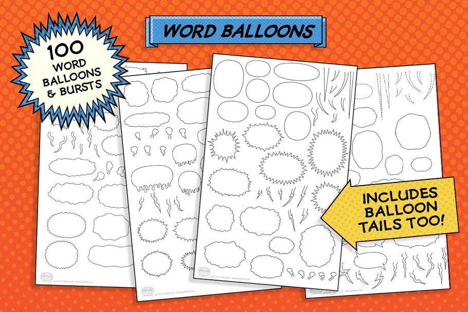 Ballons and burtss