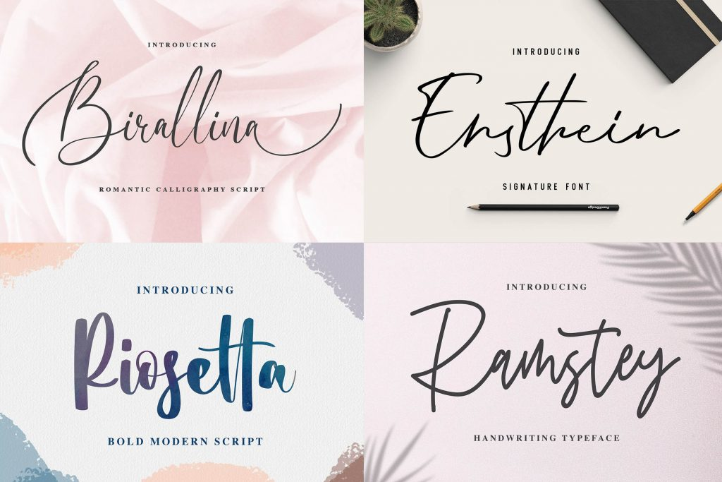 Fonts collection 1