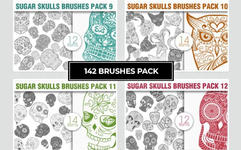 142 brushes cover