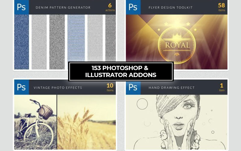 153 photoshop and illustrator addon cover