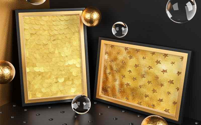 Gold Background preview 6
