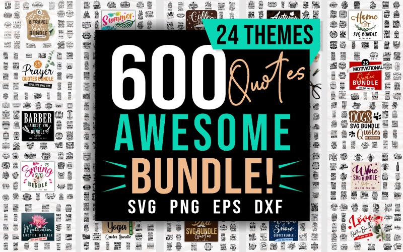 quotes and design bundle